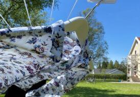 Tvättklämma av Nylon 70mm